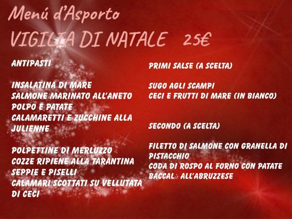 menu natale